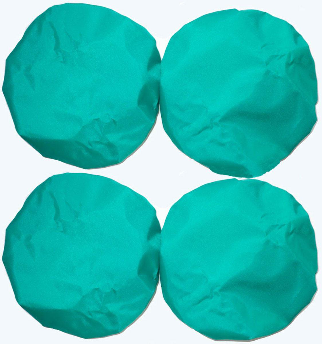 Чудо-Чадо Чехлы на колеса для коляски диаметр 28-38 см цвет зеленый 4 шт