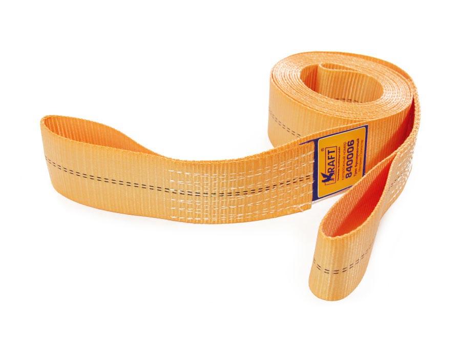 Трос буксировочный Kraft, 14 тКТ 840006Материал: полиэстер. Длина: 5 метров. Ширина:6,5см. Две петли