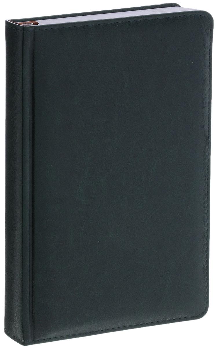 Index Ежедневник Nature недатированный 168 листов цвет зеленыйIDN006/A5/GNНедатированный ежедневник Index Nature - это один из удобных способов систематизации всех предстоящих событий и незаменимый помощник для каждого. Обложка выполнена из высококачественной искусственной кожи с прострочкой по периметру и тиснением. Внутренний блок на 336 страниц выполнен из белой офсетной бумаги с закругленными отрывными уголками. Ежедневник содержит страницу для заполнения личных данных, календарь с 2014 по 2017 год, справочно-информационный блок, телефонно-адресную книгу, а также ляссе для быстрого поиска нужной страницы. Все планы и записи всегда будут у вас перед глазами, что позволит легко ориентироваться в графике дел, событий и встреч.