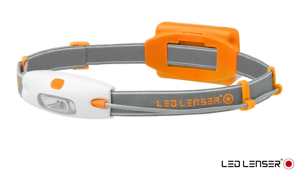Фонарь LED Lenser NEO, цвет: оранжевый6113Налобный фонарь.Световой поток- 90 лм. Питание - 3 х ААА. Количество светодиодов - 4(3 белых, 1 красный). Максимальное время свечения - 10 часов,Эффективная дальность свечения луча 10 м. Блистерная упаковка.