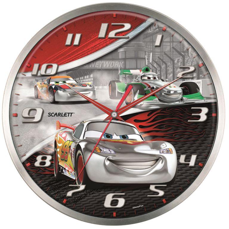 Часы настенные Scarlett, диаметр 33 см. SC - WCD09CSC - WCD09CНастенные кварцевые часы Scarlett, изготовленные из пластика, прекрасно впишутся в интерьер вашего дома. Круглые часы имеют три стрелки: часовую, минутную и секундную, циферблат защищен прозрачным пластиком. Часы работают от 1 батарейки типа АА напряжением 1,5 В (батарейка в комплект не входит). Часы бренда Scarlett - это надежность, качество и изящность стиля во все времена. Диаметр часов: 33 см.
