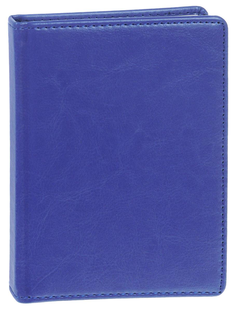 Listoff Записная книжка 96 листов в клетку цвет серо-голубой КЗК6961646