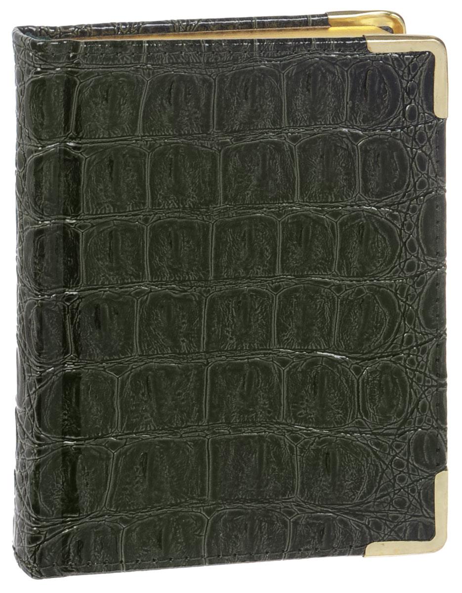 Listoff Записная книжка Croco 96 листов в клетку72523WDЗаписная книжка Listoff Croco - незаменимый атрибут современного человека, необходимый для рабочих и повседневных записей в офисе и дома. Записная книжка содержит 96 листов формата А6 в клетку. Обложка выполнена из искусственной кожи с имитацией под крокодиловую и прошита по периметру нитками. Металлические скругленные углы защищают обложку при активном использовании. Внутренний блок изготовлен из высококачественной плотной состаренной бумаги с золотым обрезом, что гарантирует чистоту записей и отсутствие клякс. Атласное ляссе поможет быстро найти нужную страницу.Записная книжка Listoff Croco станет достойным аксессуаром среди ваших канцелярских принадлежностей. Она подойдет как для деловых людей, так и для любителей записывать свои мысли, рисовать скетчи, делать наброски.