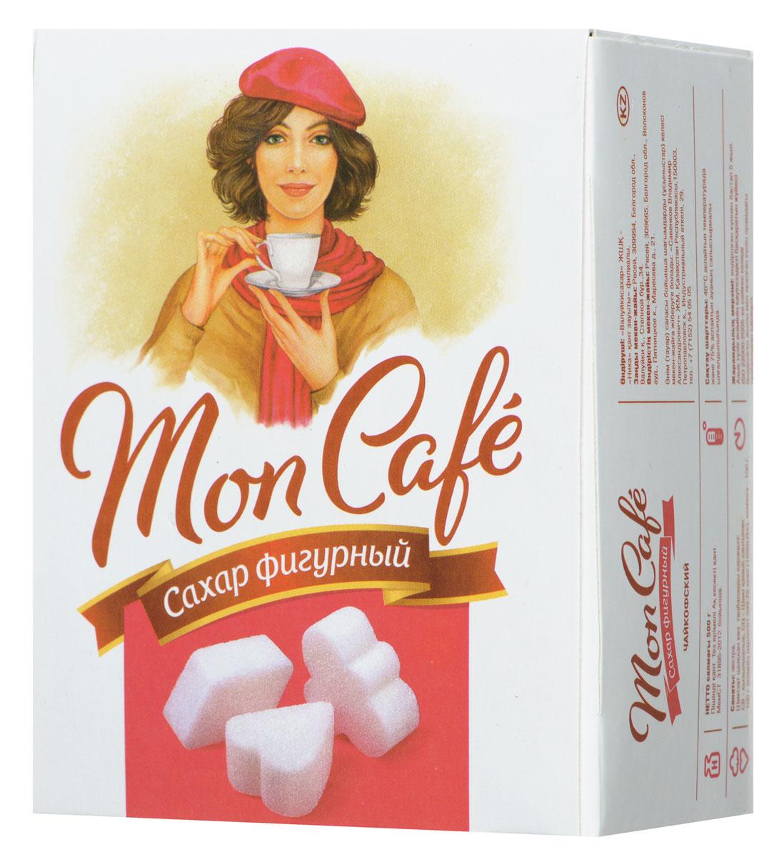 Чайкофский Mon Cafe сахар-рафинад фигурный, 500 г81043Чайкофский Mon Cafe - быстрорастворимый фигурный сахар-рафинад, изготовленный из качественного сырья - сахарной свеклы. Отлично подойдет для ежедневного употребления с различными напитками.