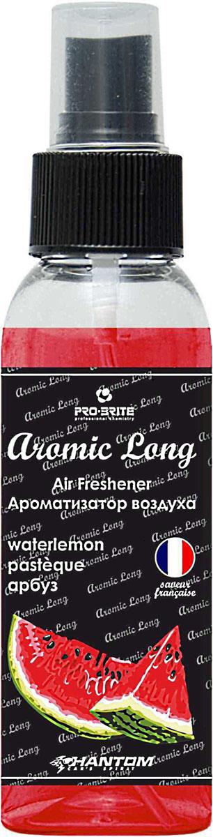 Ароматизатор воздуха автомобильный Phantom Aromic Long, арбуз, спрей 100 млРН4041Ароматизатор воздуха на основе натуральных отдушек с насыщенным ароматом. Применим в любых помещениях и салонах автомобилей. Нейтрализует неприятные запахи и придает воздуху свежесть.