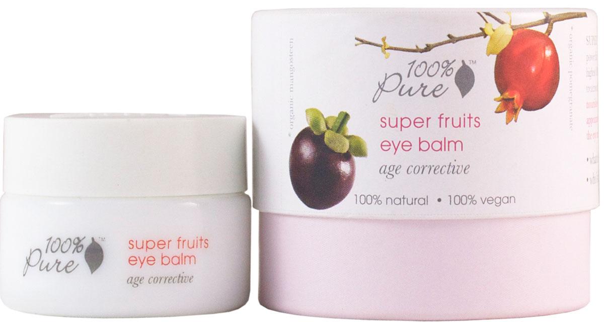 100% Pure Коллекция супер фрукты: бальзам для области вокруг глаз 10 гFS-00897Крем для области вокруг глаз содержит большое количество витаминов, антиоксидантов и полезных питательных веществ. Предотвращает появление морщин, способствует повышению упругости кожи, делает кожу более здоровой и сияющей. Коллекция Супер Фрукты - это квинтэссенция молодости, созданная из фруктов, обладающих самым мощным омолаживающим потенциалом и имеющих самое высокое значение ORAC! ORAC (Oxygen Radical Absorbance Capacity) - спектральная способность поглощения радикального кислорода, - это метод измерения антиоксидантного потенциала в биологических образцах. Разработано специально для коррекции уже имеющихся признаков старения..
