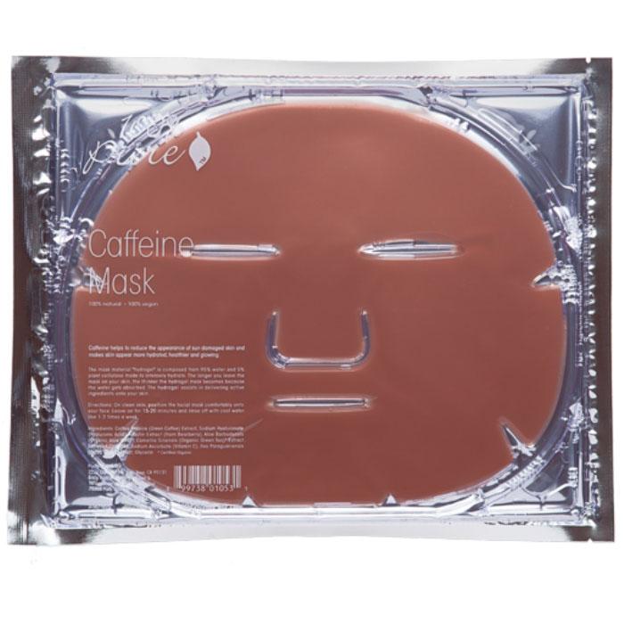 100% Pure Набор восстанавливающих кофейных масок,5 шт x 60 г72523WDКофеин эффективно восстанавливает поврежденную солнцем кожу лица, является противовоспалительным средством, стимулирует кровообращение и успокаивает покраснения кожи. Материал маски гидрогель состоит из 95% органического алоэ и 5% растительного комплекса для интенсивного увлажнения. Гидрогель способствует усвоению кожей активных ингредиентов. Чем дольше вы оставите маску на вашем лице, тем тоньше становится гидрогелевый слой- сок алоэ постепенно впитывается в кожу.