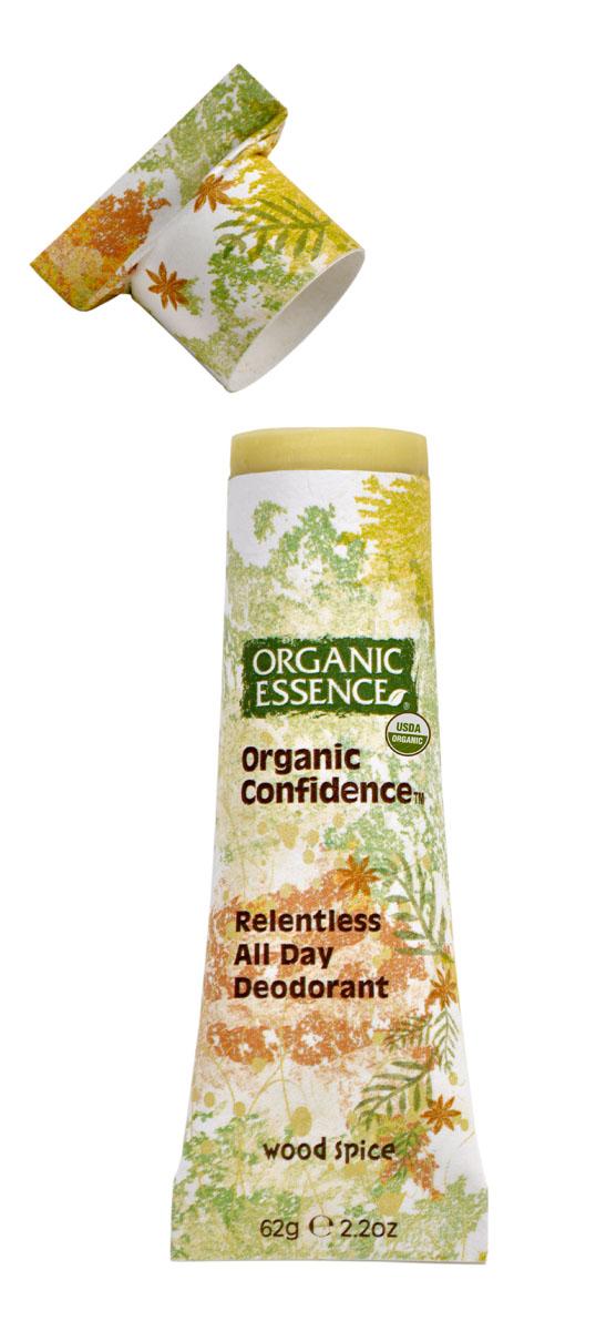 Organic Essence Органический дезодорант, Древесно-пряный 62 г DCWOS