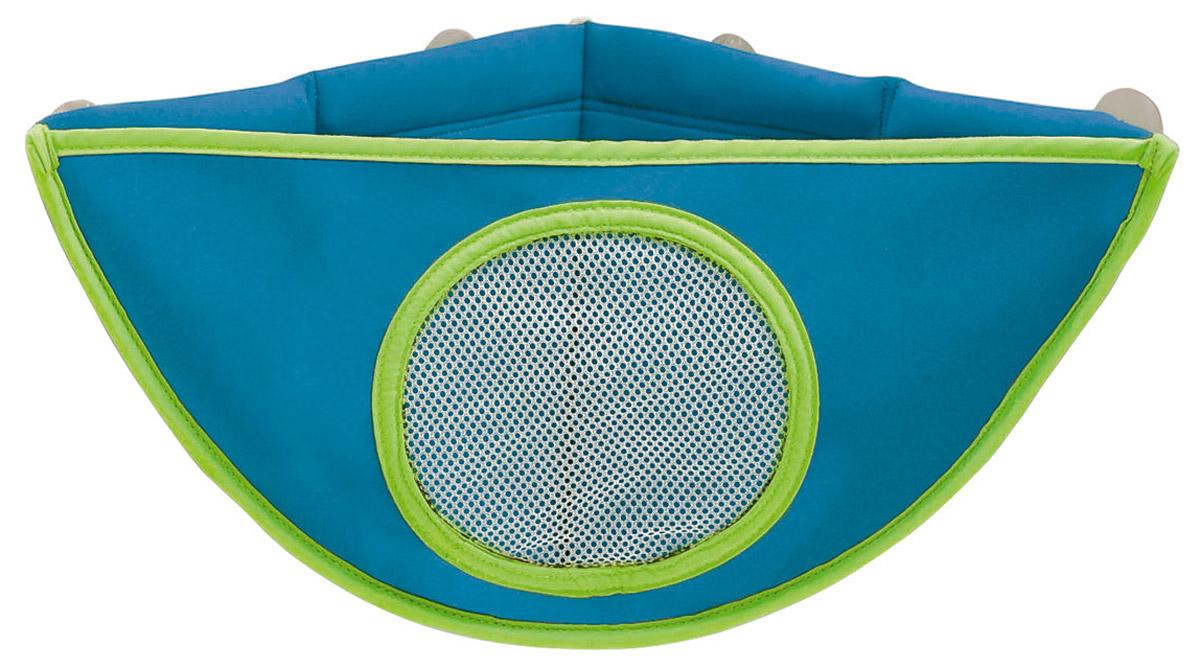 Munchkin Органайзер для игрушек в ванной цвет голубой 11033_голубой
