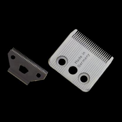 Ножевой блок на винтах Moser для машинки Moser 14001401-7600Ножевой блок Moser (Мозер) на винтах, для моделей машинок 1400-0074, регулируемый высота 0,1-3 мм, ширина 46 мм, шаг 1,6 мм