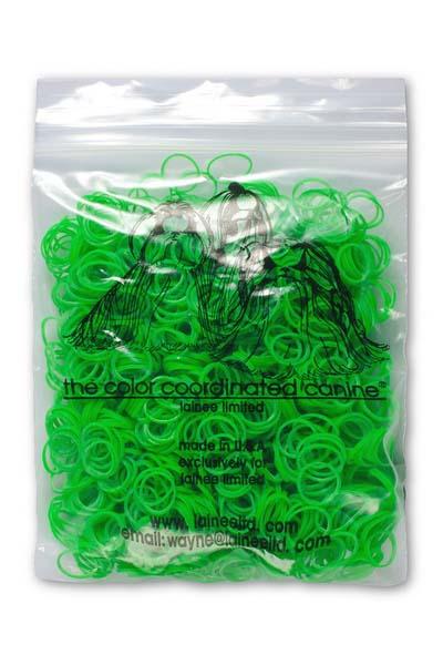 Резинки Lainee L зеленые 200 штLBLPEQLainee (Лайни) резинки латексные размер L. Набор латексных резинок. Резиночки используются для формирования топ-кнотов у собак с особо густой плотностью шерсти. Резиночки одноразовые, срезаются ножницами. Цвет зеленый, 200 шт. в упаковки.