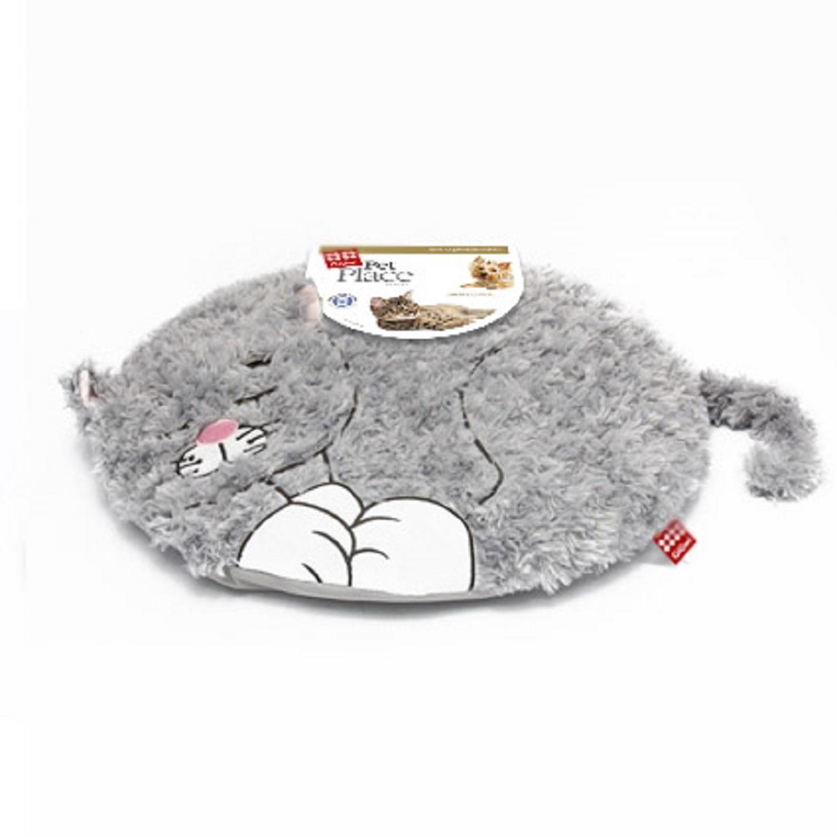 Лежанка с дизайном GiGwi Кошка 57 см0120710GiGwi Лежанка с дизайном КошкаЛежанка для небольших собак и кошек. Наполнитель полиэстер. Машинная стирка