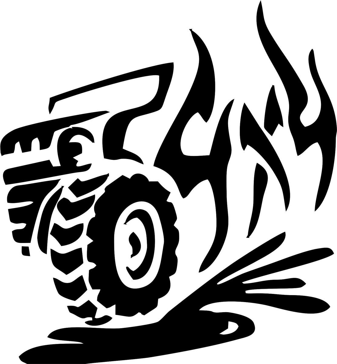Наклейка автомобильная Оранжевый слоник 4х4. Джип, виниловая, цвет: черный150440002BОригинальная наклейка Оранжевый слоник 4х4. Джип изготовлена из высококачественной виниловой пленки, которая выполняет не только декоративную функцию, но и защищает кузов автомобиля от небольших механических повреждений, либо скрывает уже существующие. Виниловые наклейки на автомобиль - это не только красиво, но еще и быстро! Всего за несколько минут вы можете полностью преобразить свой автомобиль, сделать его ярким, необычным, особенным и неповторимым!
