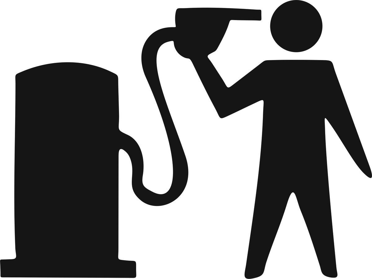 Наклейка автомобильная Оранжевый слоник Бензин, виниловая, цвет: черныйSC-FD421005Оригинальная наклейка Оранжевый слоник Бензин изготовлена из долговечного винила, который выполняет не только декоративную функцию, но и защищает кузов от небольших механических повреждений, либо скрывает уже существующие.Виниловые наклейки на авто - это не только красиво, но еще и быстро! Всего за несколько минут вы можете полностью преобразить свой автомобиль, сделать его ярким, необычным, особенным и неповторимым!