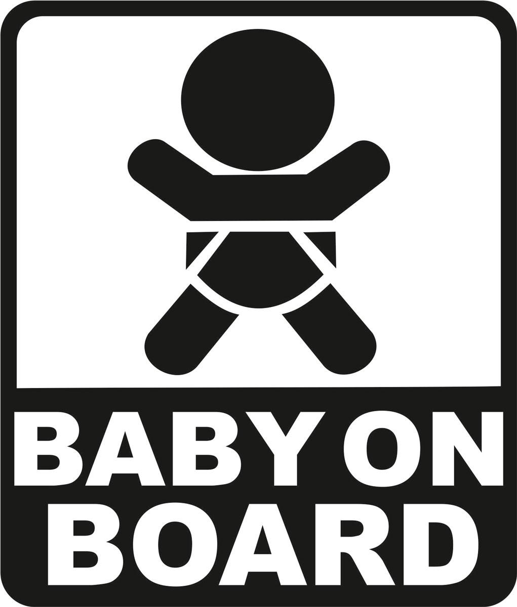 Наклейка автомобильная Оранжевый слоник Baby on Board. Квадрат, виниловая, цвет: черныйSC-FD421005Оригинальная наклейка Оранжевый слоник Baby on Board. Квадрат изготовлена из долговечного винила, который выполняет не только декоративную функцию, но и защищает кузов от небольших механических повреждений, либо скрывает уже существующие.Виниловые наклейки на авто - это не только красиво, но еще и быстро! Всего за несколько минут вы можете полностью преобразить свой автомобиль, сделать его ярким, необычным, особенным и неповторимым!