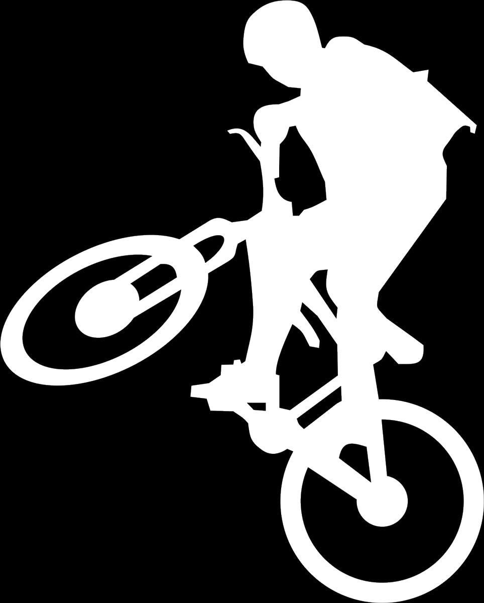Наклейка автомобильная Оранжевый слоник Велосипедист 2, виниловая, цвет: белый150SP0004WОригинальная наклейка Оранжевый слоник Велосипедист 2 изготовлена из высококачественного винила, который выполняет не только декоративную функцию, но и защищает кузов от небольших механических повреждений, либо скрывает уже существующие. Виниловые наклейки на авто - это не только красиво, но еще и быстро! Всего за несколько минут вы можете полностью преобразить свой автомобиль, сделать его ярким, необычным, особенным и неповторимым!