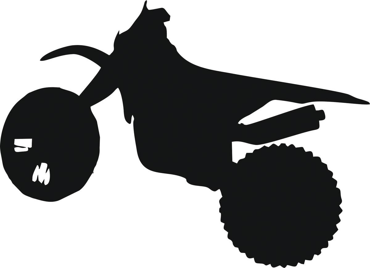 Наклейка автомобильная Оранжевый слоник Мотоцикл 11, виниловая, цвет: черный150MT00011BОригинальная наклейка Оранжевый слоник Мотоцикл 11 изготовлена из высококачественной виниловой пленки, которая выполняет не только декоративную функцию, но и защищает кузов автомобиля от небольших механических повреждений, либо скрывает уже существующие. Виниловые наклейки на автомобиль - это не только красиво, но еще и быстро! Всего за несколько минут вы можете полностью преобразить свой автомобиль, сделать его ярким, необычным, особенным и неповторимым!