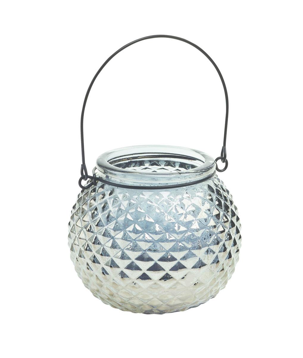 Подсвечник подвесной Gardman Honey Pot. Diamond, цвет: серебристый, 8,5 см17914Декоративный подсвечник Gardman Honey Pot. Diamond, изготовленный из высококачественного стекла, позволит украсить интерьер дома или рабочего кабинета оригинальным образом. Вы можете поставить или подвесить подсвечник в любом месте, где он будет удачно смотреться и радовать глаз. Кроме того - это отличный вариант подарка для ваших близких и друзей.