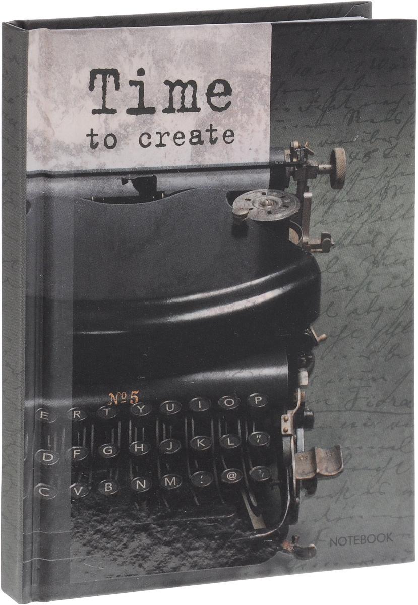 Listoff Записная книжка Время творчества 80 листов в клетку72523WDЗаписная книжка Listoff Время творчества - незаменимый атрибут современного человека, необходимый для рабочих и повседневных записей в офисе и дома. Записная книжка содержит 80 листов формата А6 в клетку без полей. Обложка, выполненная из плотного картона, украшена изображением печатной машинки. Внутренний блок изготовлен из высококачественной плотной бумаги, что гарантирует чистоту записей и отсутствие клякс.Книга для записей Listoff Время творчества станет достойным аксессуаром среди ваших канцелярских принадлежностей. Она подойдет как для деловых людей, так и для любителей записывать свои мысли, рисовать скетчи, делать наброски.