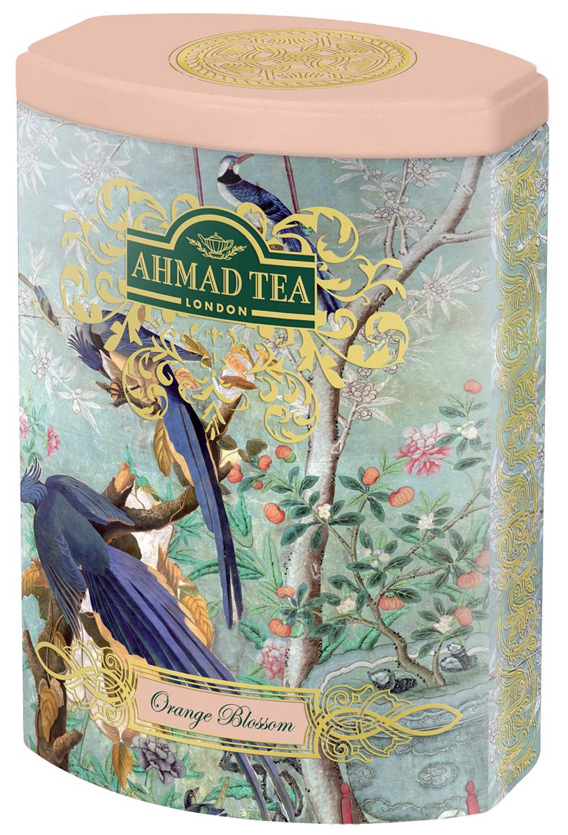 Ahmad Tea Цветок Апельсина черный листовой чай, 100 г (ж/б)0120710Чуть заметная сластинка и тонкий аромат составляют особенный легкий букет чая Ahmad Tea Цветок Апельсина. В европейской традиции цветок апельсина считается символом любви. В честь него назвали букет невесты – флёрдоранж. Моду на них и на белые свадебные платья ввела английская королева Виктория в 19 веке.
