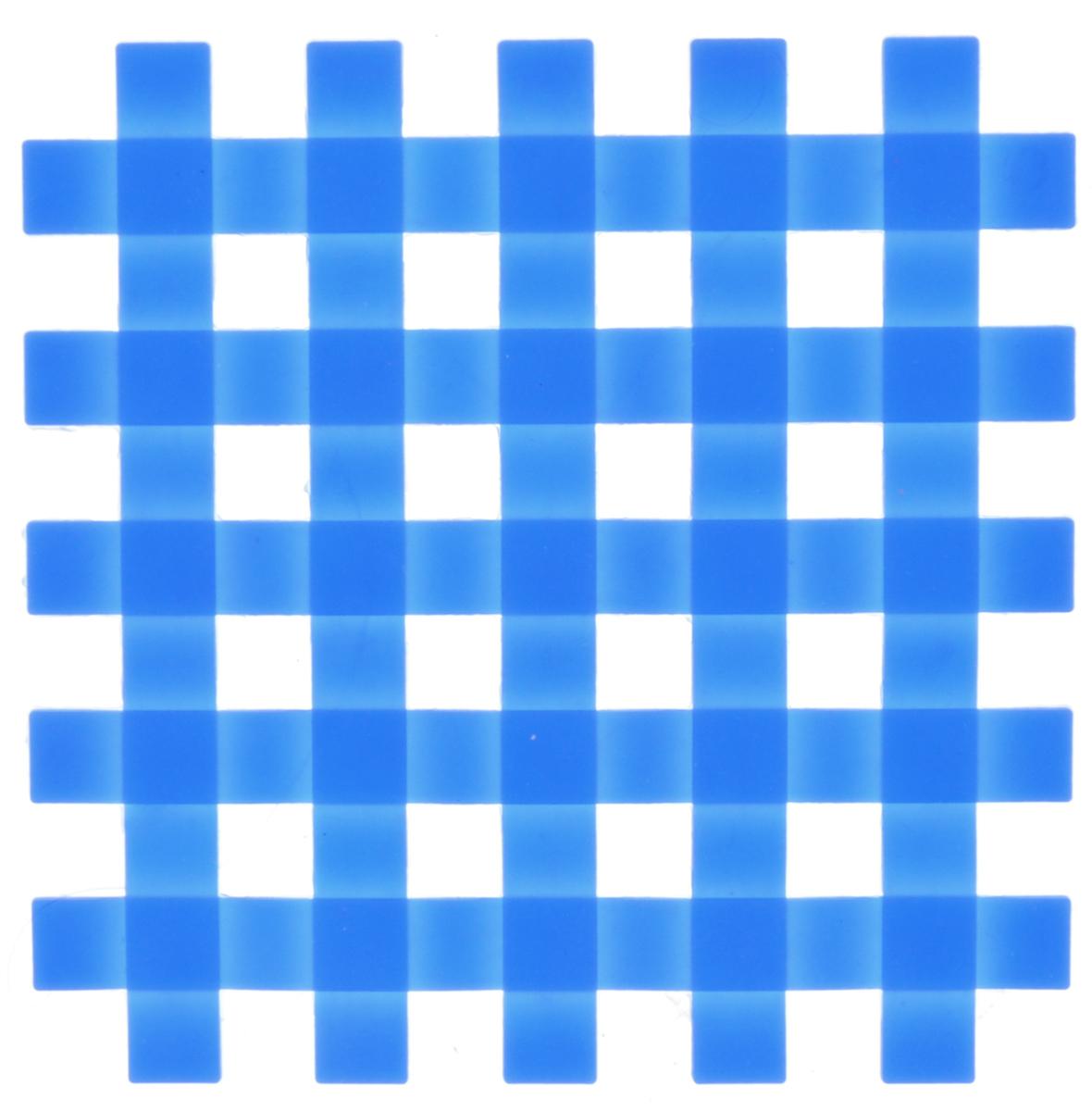 Подставка под горячее Mayer & Boch, силиконовая, цвет: синий, 17 х 17 см20059Подставка под горячее Mayer & Boch изготовлена из силикона и оформлена в виде сетки. Материал позволяет выдерживать высокие температуры и не скользит по поверхности стола. Каждая хозяйка знает, что подставка под горячее - это незаменимый и очень полезный аксессуар на каждой кухне. Ваш стол будет не только украшен яркой и оригинальной подставкой, но также вы сможете уберечь его от воздействия высоких температур.