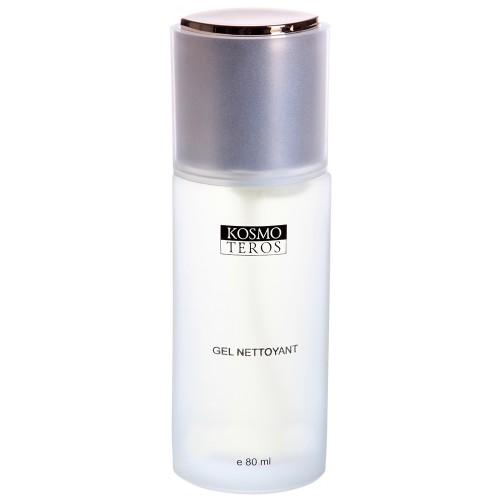 Kosmoteros Gel Nettoyant - Гель очищающий 80 мл5018Универсальное пенящееся средство для очищения лица, шеи и декольте. Мягко и тщательно удаляет загрязнения эндогенного и экзогенного происхождения, поддерживая необходимый уровень увлажнения кожи. Обладает антисептическими свойствами, обеспечивает длительную защиту от патогенной микрофлоры. Основные активные компоненты: Hyasealon 0, 7%, Symclariol 1, 0%, экстракты: шалфея, эвкалипта, чистотела, белой ивы, пантенол. Показания к применению: для всех типов кожи, включая чувствительную, но обязательно рекомендован для жирной и проблемной, склонной к высыпаниям, кожи.