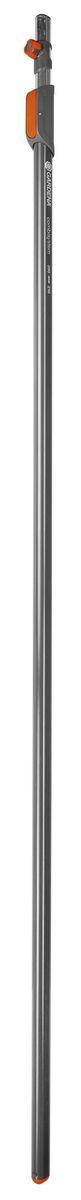 Ручка телескопическая 210-390 см Gardena03721-20.000.00Служат для обеспечения удобства работы на высоте. Запатентованное соединение ручек с инструментами. Удлиняются с шагом 26 см. Защелка предотвращает проворачивание. Высококачественная легкая прочная алюминиевая конструкция.