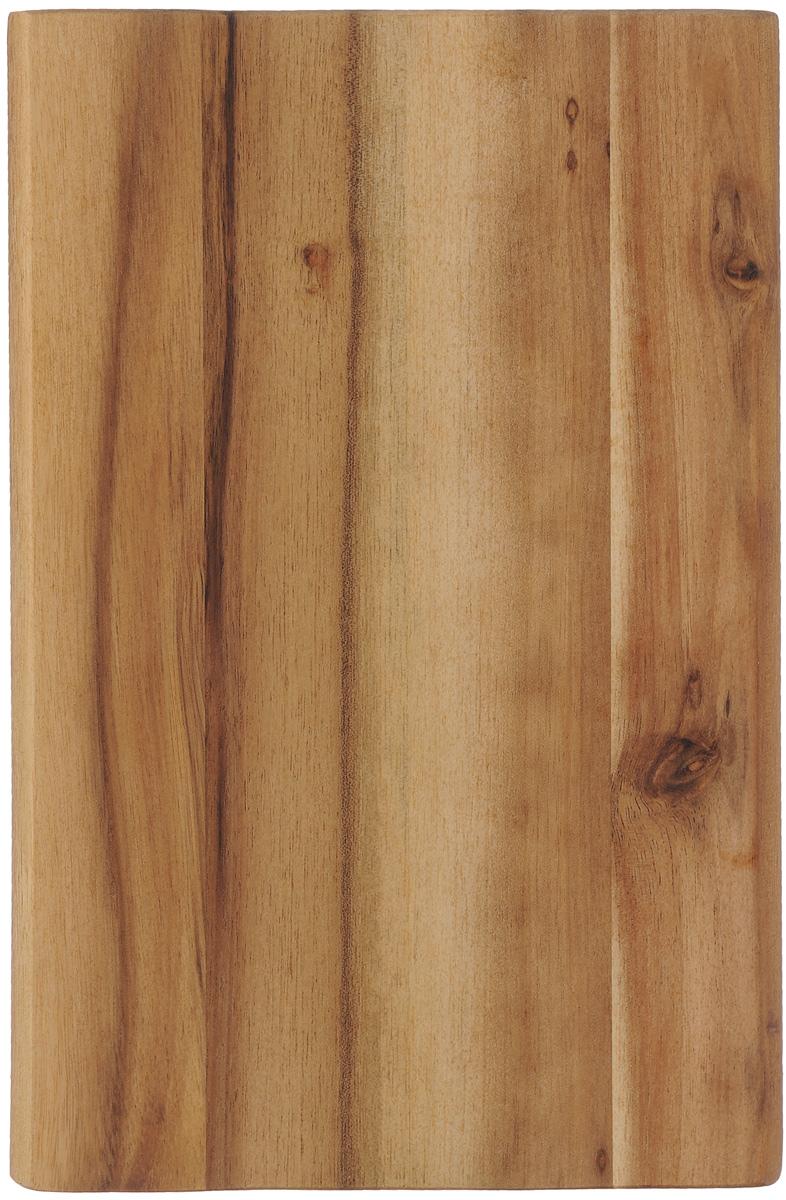 Доска разделочная Kesper, 23 х 15 см2340-0_прямые углыРазделочная доска Kesper изготовлена из натуральной древесины акации. Благодаря среднему размеру, на ней удобно разделывать различные продукты, и она не занимает много места при хранении. Функциональная и простая в использовании разделочная доска Kesper прекрасно впишется в интерьер любой кухни и прослужит вам долгие годы. Для мытья использовать неабразивные моющие средства.