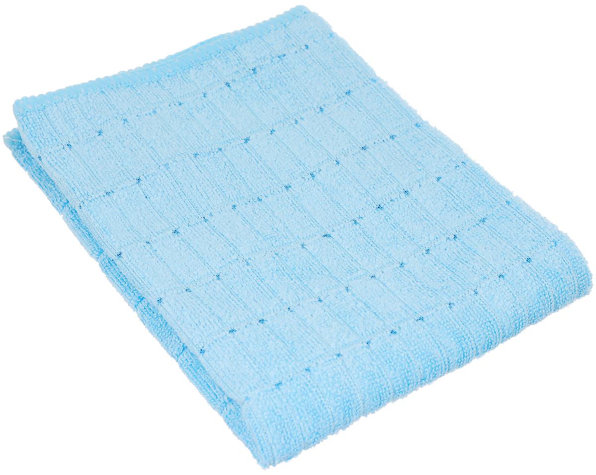 Салфетка чистящая Sapfire Micro Lines, цвет: голубой, 30 х 40 смSFM-3005_голубойБлагодаря своей уникальной ворсовой структуре, салфетка Sapfire Micro Lines прекрасно подходит для мытья и полировки автомобиля. Материал салфетки: микрофибра (80% полиэстер и 20% полиамид), обладает уникальной способностью быстро впитывать большой объем жидкости. Клиновидные микроскопические волокна захватывают и легко удерживают частички пыли, жировой и никотиновый налет, микроорганизмы, в том числе болезнетворные и вызывающие аллергию. Протертая поверхность становится идеально чистой, сухой, блестящей, без разводов и ворсинок. Допускается машинная и ручная стирка слабым моющим раствором в теплой воде. Отбеливание и глажка запрещены. Размер салфетки: 30 х 40 см.