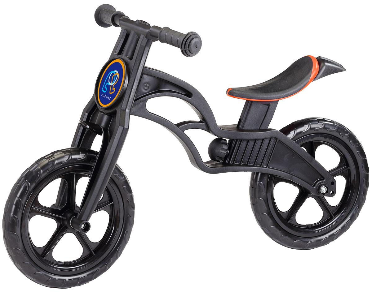 Pop Bike Детский беговел Sprint с бескамерными колесами цвет черный SM-300-1-BLACK
