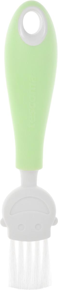 Кисть кулинарная Tescoma Funny Mummy, цвет: зеленый, длина 17 см470018_салатовыйКулинарная кисть Tescoma Funny Mummy станет вашим незаменимым помощником на кухне. Рабочая часть кисточки выполнена из мягкого нейлонового волокна, ручка изготовлена из полипропилена. Изделие оснащено петелькой для подвешивания. Кисть Tescoma Funny Mummy - практичный и необходимый подарок любой хозяйке! Длина кисти: 17 см. Размер рабочей части: 3 х 3 см.