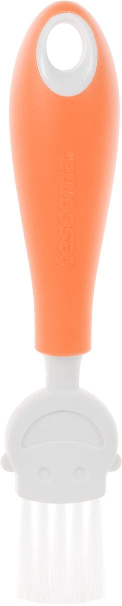Кисть кулинарная Tescoma Funny Mummy, цвет: оранжевый, длина 17 смCM000001328Кулинарная кисть Tescoma Funny Mummy станет вашим незаменимым помощником на кухне. Рабочая часть кисточки выполнена из мягкого нейлонового волокна, ручка изготовлена из полипропилена. Изделие оснащено петелькой для подвешивания. Кисть Tescoma Funny Mummy - практичный и необходимый подарок любой хозяйке!Длина кисти: 17 см.Размер рабочей части: 3 х 3 см.