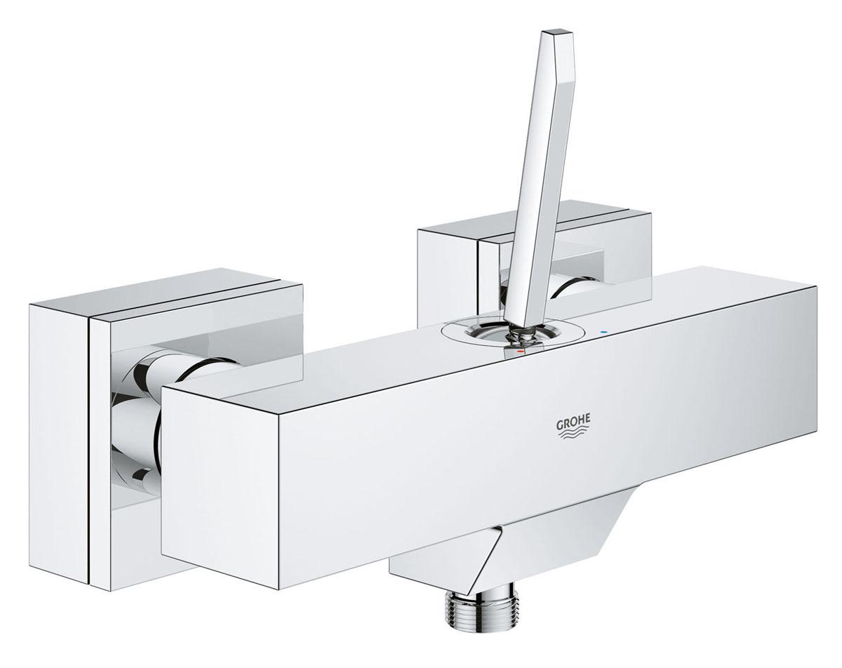 Смеситель для душа Grohe Eurocube Joy. 2366500023665000Четкие кубические линии и фантастическая цена минималистичного смесителя для душа Grohe идеально подойдут для тех, кто хочет сдержанную и современную ванную комнату. Многослойное, устойчивое к царапинам хромовое покрытие StarLight сохранит свой блеск на долгие годы.