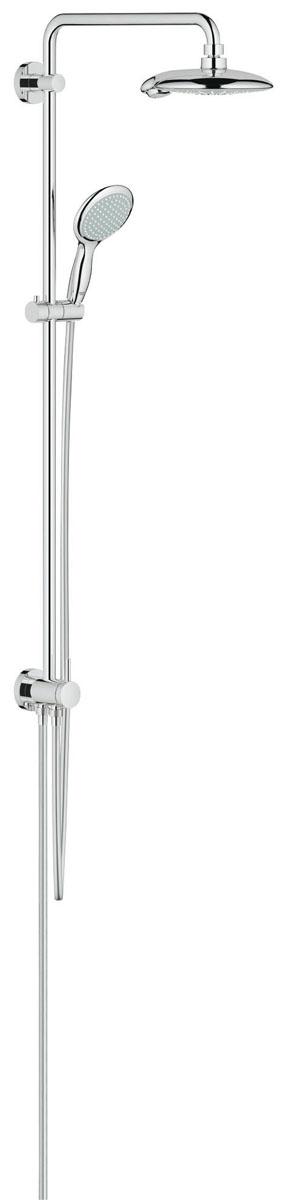 Душевая система с переключателем GROHE Euphoria 190, верхний и ручной душ, без смесителя (27911000)