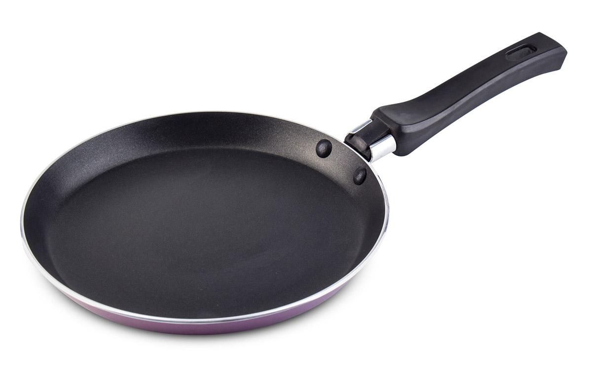 Сковорода Galaxy, для блинов, диаметр 20 см. гл9854гл9854Антипригарное покрытие Да Индукционное дно Да Диаметр сковороды 20 см.
