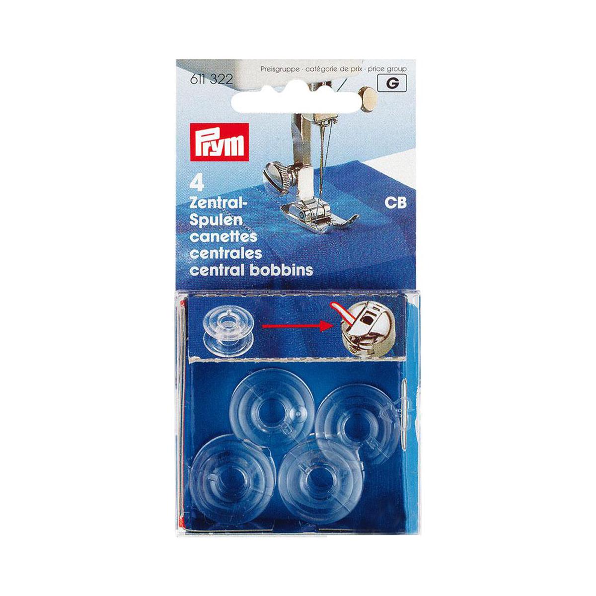 611322 Шпульки Prym для швейных машин, пластик, CB342515
