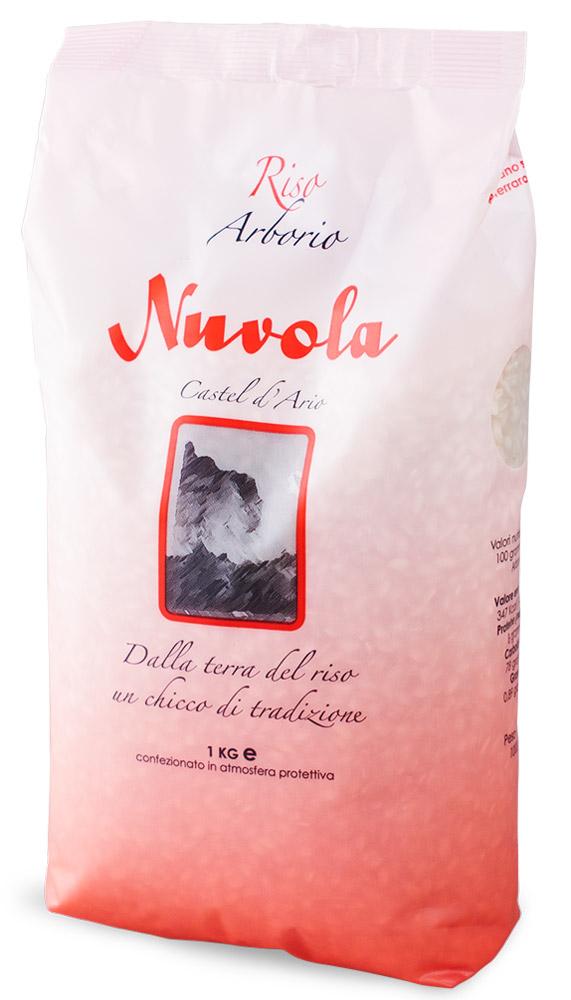 Riso Nuvola Арборио рис, 1 кг0120710Riso Nuvola Арборио - еще один сорт риса для ризотто. Отличается высоким содержанием крахмала, что позволяет добиться удивительно нежный текстуры ризотто с выраженным сливочным вкусом.