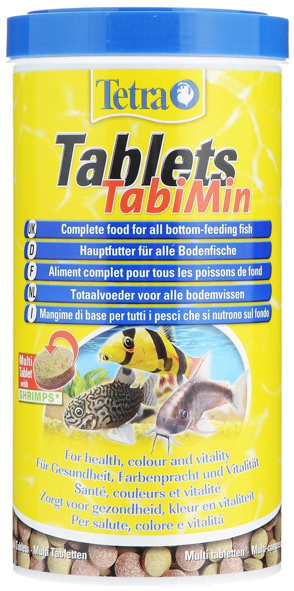 Корм Tetra Tablets TabiMin для всех видов донных рыб, 1 л (620 г), 2050 таблеток125940Корм Tetra Tablets TabiMin - полноценный основной корм в виде таблеток для всех видов донных рыб: сомов, боций, придонных барбусов. Таблетки быстро опускаются на дно или могут быть размещены в необходимом месте. Они медленно размягчаются, высвобождая корм. Отлично подходят для донных, а также пугливых рыб. Новая формула универсальных таблеток содержит креветки для улучшенного вкуса. Содержание витамина С улучшает иммунную систему организма рыб, ускоряет рост и устраняет симптомы недоедания. Корм содержит все необходимые питательные вещества, жиры и микроэлементы. Кормить несколько раз в день небольшими порциями. Товар сертифицирован.