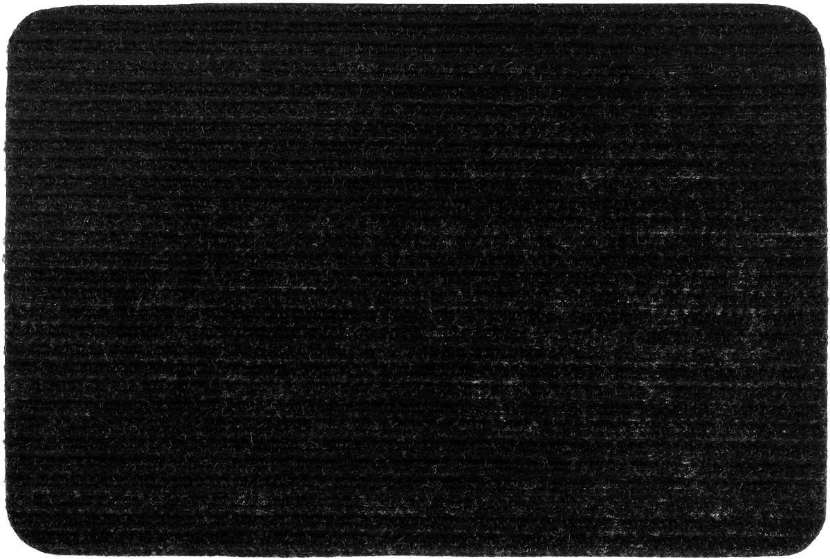 Коврик придверный Vortex Simple, влаговпитывающий, цвет: черный, 60 х 40 см22073_черныйВлаговпитывающий придверный коврик Vortex Simple, выполненный из полипропилена, предназначен для использования внутри и снаружи помещения. Такой коврик надежно защитит помещение от уличной пыли и грязи.