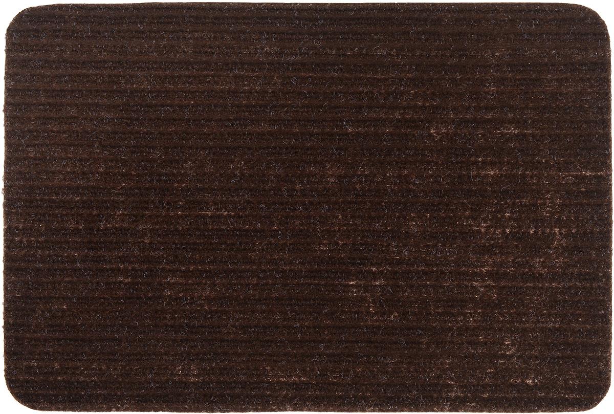 Коврик придверный Vortex Simple, влаговпитывающий, цвет: коричневый, 60 х 40 смUP210DFВлаговпитывающий придверный коврик Vortex Simple, выполненный из полипропилена, предназначен для использования внутри и снаружи помещения.Такой коврик надежно защитит помещение от уличной пыли и грязи.