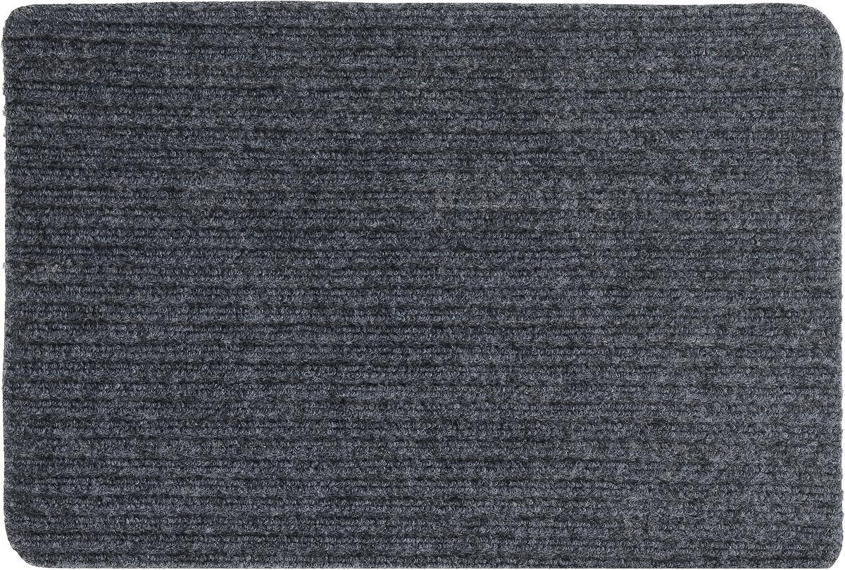 Коврик придверный Vortex Simple, влаговпитывающий, цвет: темно-серый, 60 х 40 см22073_серыйВлаговпитывающий придверный коврик Vortex Simple, выполненный из полипропилена, предназначен для использования внутри и снаружи помещения. Такой коврик надежно защитит помещение от уличной пыли и грязи.