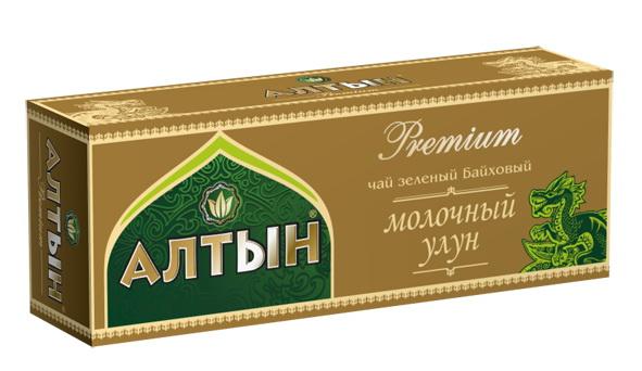 Алтын Premium Молочный Улун зеленый чай в пакетиках, 25 шт101246Ассортимент коллекции «Алтын» Premium это всегда высшие сорта цейлонских и китайских чаев, неизменное качество и традиционные вкусы.