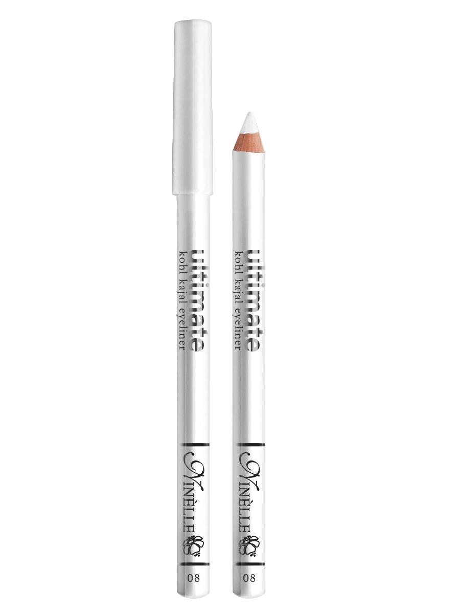 Ninelle Карандаш для глаз Ultimate №08, 1,5 г5010777139655Мягкий и гладкий карандаш для глаз с шелковистой текстурой, позволяющий нарисовать четкую или слегка растушеванную линию. С помощью мягкого карандаша- каяла можно подводить верхнее, нижнее, а также внутреннее веко.