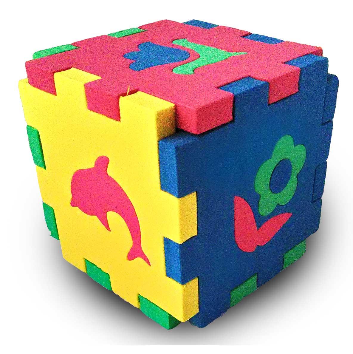 Бомик Пазл для малышей Кубик Мозаика Силуэты 509