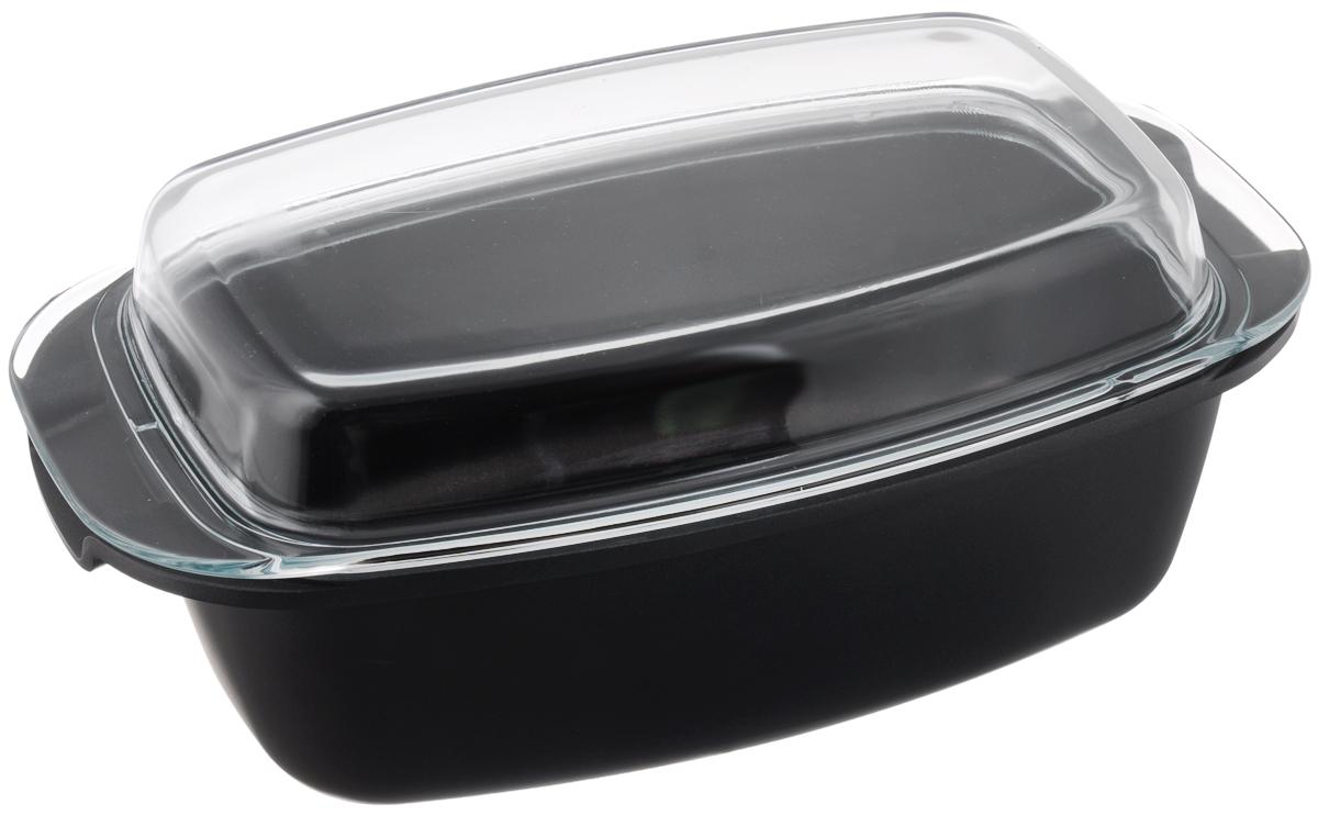Жаровня Tescoma Premium с крышкой, с антипригарным покрытием, 39 х 22 см601939Жаровня Tescoma Premium изготовлена из литого алюминия с антипригарным покрытием, которое предотвращает пригорание и прилипание пищи. Специальным образом отшлифованное дно обеспечивает идеальный контакт с варочной поверхностью. Изделие снабжено жароупорной стеклянной крышкой, которую можно использовать в качестве самостоятельной формы для выпечки. Изделие подходит для всех видов духовок, а также для газовых, электрических и стеклокерамических плит. Не подходит для микроволновых печей. Можно мыть в посудомоечной машине. Размер жаровни (по верхнему краю): 39 х 22 см. Внутренний размер (по верхнему краю): 32,5 х 20,5 см. Высота стенки: 11 см. Размер крышки: 39 х 22 х 6 см.