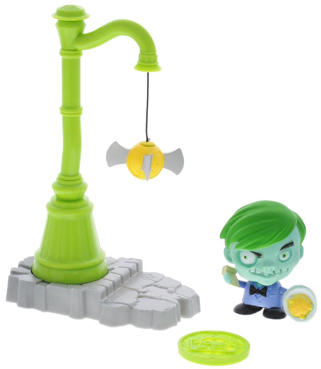 Zombie Zity Игровой набор Ловушка для зомби Филипп Снотти и Фонарный столб