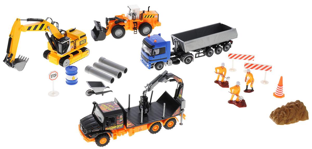 Подробнее о Dickie Toys Игровой набор Строительная техника dickie toys строительная техника
