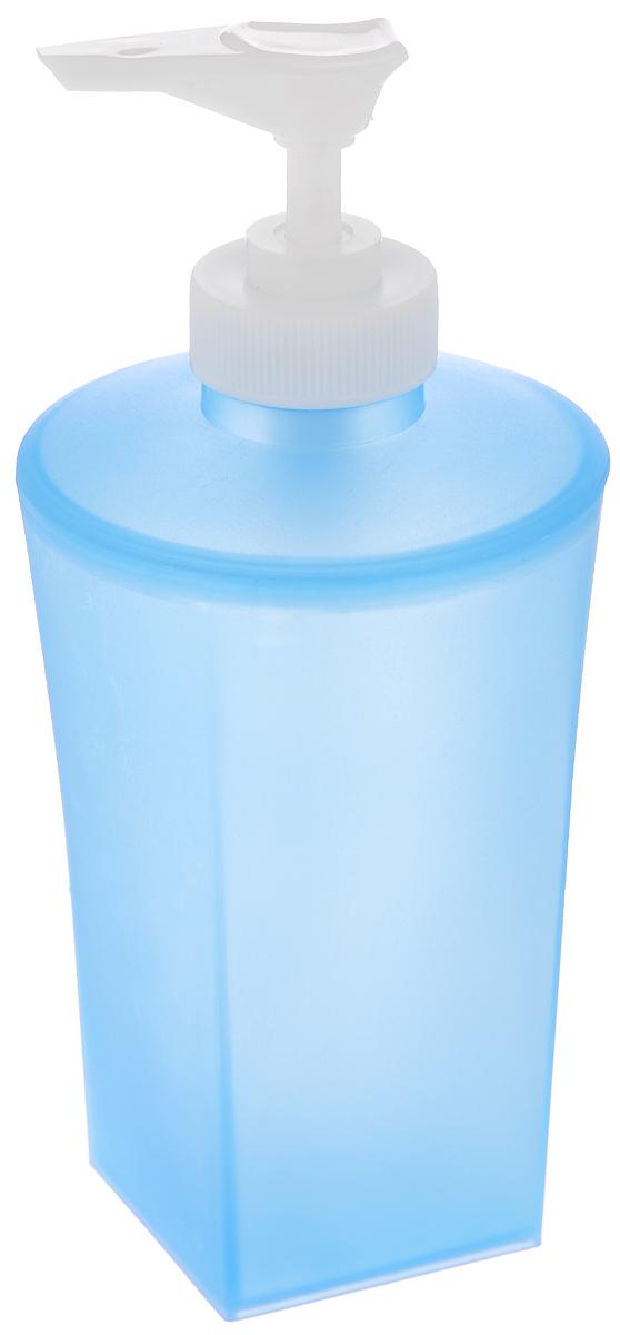 Дозатор для жидкого мыла Vanstore Summer Blue, цвет: синий373-03Дозатор для жидкого мыла Vanstore Summer Blue изготовлен из прочного пластика. Предназначен для жидкого мыла и разнообразных жидких лосьонов. Дозатором очень легко пользоваться: просто нажмите сверху на дозатор и выдавите необходимое количество мыла. Прозрачные стенки позволяет видеть количество оставшегося мыла. Благодаря классическому дизайну и практичности, такой дозатор идеально подойдет для вашей ванной комнаты или кухни.