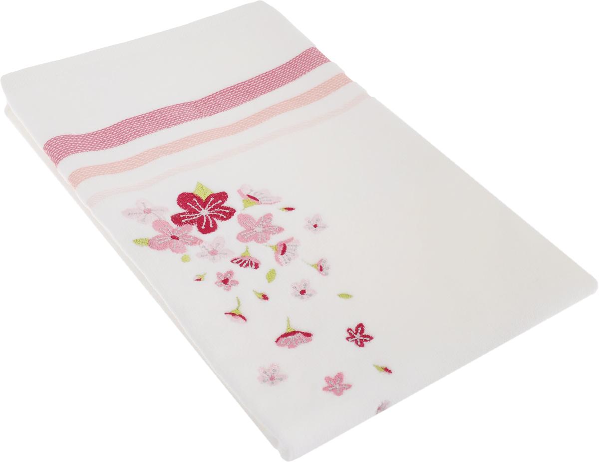 Полотенце махровое TAC Adelia, цвет: белый, розовый, 50 x 90 см1050-84690Махровое полотенце TAC Adelia выполнено из натуральной махровой ткани (100% хлопок). Изделие отлично впитывает влагу, быстро сохнет, сохраняет яркость цвета и не теряет форму даже после многократных стирок. Полотенце очень практично и неприхотливо в уходе. Такое полотенце прекрасно дополнит интерьер ванной комнаты. Рекомендации по уходу: - режим стирки при 40°C, - допускается деликатная сухая химчистка, - отбеливание запрещено, - глажка при температуре подошвы утюга до 200°С, - рекомендуется щадящий барабанный отжим.