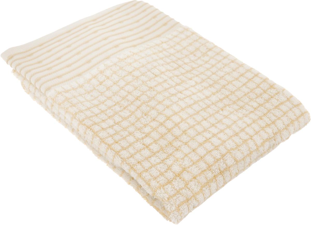 """Полотенце махровое TAC """"Duende"""", цвет: светло-коричневый, 50 x 90 см 1007-84396"""